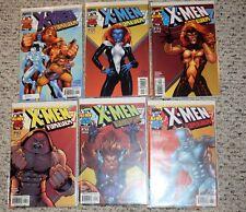 2001 X-men Forever #1-6