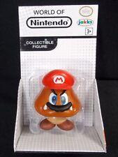 """World of Nintendo Super Mario Captured Goomba 2.5"""" Action Figure Jakks"""