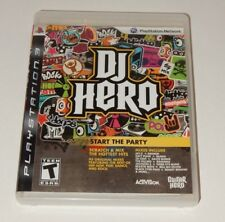 DJ Hero (Game Only) (Sony PlayStation 3, 2010)  COMPLETE