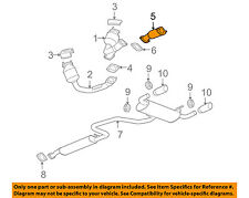 Pontiac GM OEM 06-07 G6 3.9L-V6 Exhaust System-Front Pipe 22698319