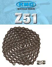 [S] KMC Z51 Chain for Shimano Sram Alivio Acera Deore Tourney 6 7 8 Spd
