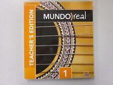 Mundo real 1 Spanish 1 Teacher's Edition Cambridge 2014 New ISBN 110769261X