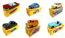 Set of 6 Dinky Toys Triumph Bedford Fiat Ford Jaguar VW - 1:43 Diecast Model Car