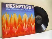 EXSEPTION, ROYAL PHILHARMONIC ORCHESTRA exseption 00.04 (1st uk press) LP EX/VG