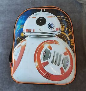 Star Wars Backpack BB-8 Disney Led Light Up Working Condition