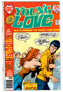 YOUNG LOVE #123 in VG condition a 1977 Bronze Age DC comic
