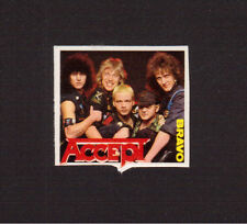 ACCEPT Heavy Metal Group 1980s Movie Pop Rock Music TV Mini Sticker from Germany