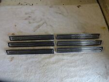 1968 Buick Skylark Special Sport Wagon Front Fender Louver Vent Trim Moldings