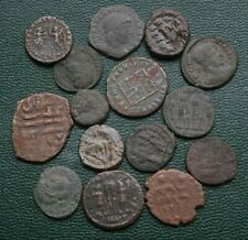 New ListingNice Lot Of `Fifteen (15) Ancient Coins, Mostly Roman Imperial, 306 to 380 Ad