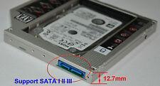 Universal SATA 3 III 2nd HDD Hard Drive Caddy for 12.7mm CD DVD-ROM Optical Bay