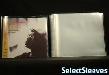 Non-Reseal Outer for MINI LP Paper Sleeves Made in Japan 100pcs SelectSleeves