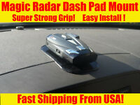 Radar Detector Mount Dashboard For Beltronics Passport Cobra Escort Valentine