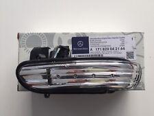 GENUINE NEW MERCEDES BENZ SLK SL RH O/S MIRROR INDICATOR LAMP A1718200421