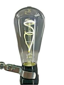 Feit Dimmable LED Smoke Glass Light Bulb Vintage Edison 40W Equivalent ST19
