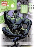 BEAST / 2013 Marvel Now! (Upper Deck 2014) BASE Trading Card #08