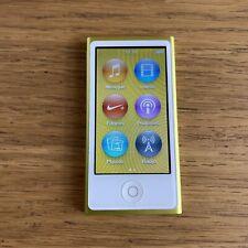 Apple Ipod Nano 16go 16gb - 7ème Génération - Fonctionne  - Baladeur Mp3 - A1446