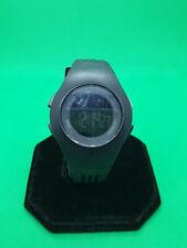 mens adidas black digital sport watch 5atm- adp6055,black rubber strap.bm.