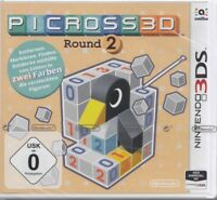 Picross 3D Round 2 - für Nintendo 3DS - Neu & OVP Deutsche USK Version
