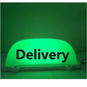 Car top Light Waterproof 12V LED Delivery Light with Line Magnetic Base