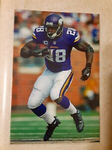 Adrian Peterson Vikings Football 4x6 Game Photo Picture Card