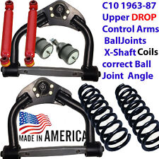 "1963-1987 CHEVY C10 DROP upper arms,Balljoints,Xshaft 251130 3"" Coils,1300LL"