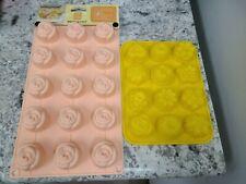 Silikomart ITALY Rose Cake Silicone Mold NEW 15 Piece Mold & Bundt Cake Mold