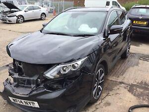Nissan Qashqai J11 Breaking Passenger Side Front Wing Damaged 2013-2017