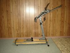 NORDIC TRACK PRO PLUS SKI MACHINE W/ MONITOR, BOOK READER AND  INSTRUCTIONS