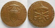 Vaticano medaglia 2° sede vacante 1978 bronzo