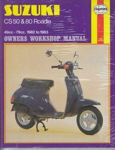 Haynes Manual 941 Suzuki CS50 1982-1985 & CS80 1983-1986 Roadie. New old stock