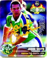 2006 NRL SIGNATURE SERIES TAZO JASON SMITH CANBERRA RAIDERS 1/20 ONLY