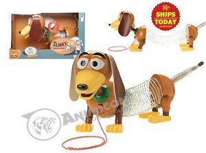 "Disney Store Toy Story 4 SLINKY DOG TALKING 9"""" FIGURE 15+ PHRASES 2020 PIXAR"