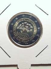 2 EURO SLOVENIE 2010 JARDIN BOTANIQUE DE LJUBLJANA COMMEMORATIVE NEUVE