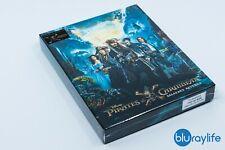 Pirates of the Caribbean: Salazar's Revenge 3D+2D Blu-ray SteelBook FilmArena