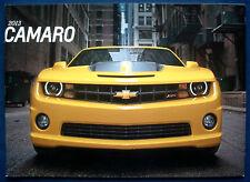 Prospekt brochure 2013 Chevrolet Chevy Camaro (USA)