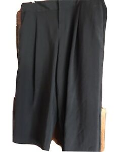 INC Black Wide Leg Corporate Shorts. 16-18 Almost New