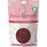 Dr Superfoods Dried Raspberries Organic 125g Muesli & Dried Fruits