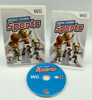 Junior League Sports Nintendo Wii - Complete In Case BOX CIB like Wii Sports!