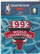 "Cicago Bulls 1993 NBA Champions Patch 3 1/2"" x 3 1/4"" Michael Jordan Sew On"