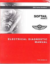2003 Harley Softail Fat Boy Heritage Springer Deuce Electrical Diagnostic Manual