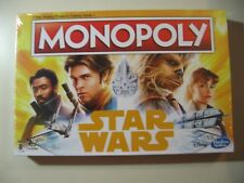 Monopoly: Star Wars Han Solo, board game, Brand New and Sealed  **DENTED**