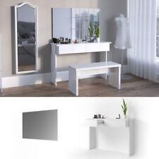 Meuble de maquillage Azur Coiffeuse Commode Table de maquillage Miroir Viola