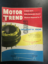 1955 Motor Trend July Back Issue Magazine