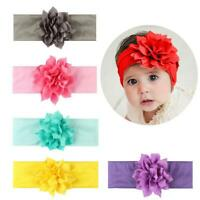 Baby Girls Flower Hairband Soft Elastic Headband Hair Accessories Band Top