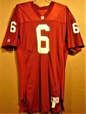 ARIZONA - PHOENIX - ST. LOUIS CARDINALS NFL #6 CARDINAL RED MESH JERSEY