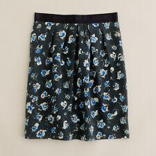 NWOT J.Crew Silk Petal Skirt in Floral Size 6