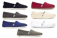 TOMS WOMENS Espadrilles Classic Canvas All Colors / All Sizes 100% AUTHENTIC $48