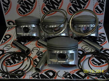 KAWASAKI KZ1000J PISTON KITS (4) NEW +1.0mm Z1000R Z1000P Z1000R KZ1000CSR