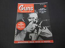 Guns Magazine April 1959 Gun Manners For Teenagers Do You Need A Bird Dog? M2208
