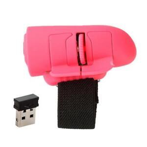 Mini 2.4G Wireless USB Finger Mouse Optical Trackball Mice for Laptop PC